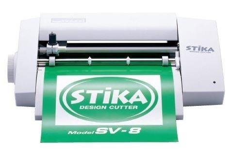 ステカ SV-8 STIKA 小型 カッティングマシン 〜16cm幅