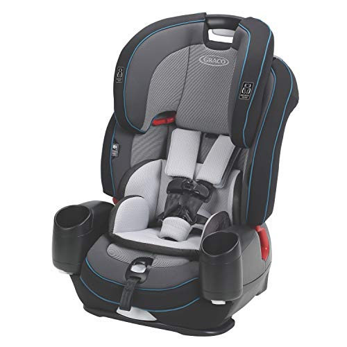 Graco Nautilus SnugLock LX 3 in 1 Harness Booster Car Seat, Zale