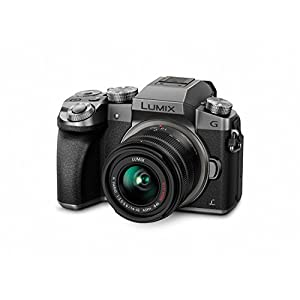 Panasonic DMC-G7KS Digital Single Lens Mirrorless Camera 14-42 mm Lens Kit, 4K + Accessory Bundle + 2 Transcend 64 GB…