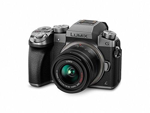 41ml4tYg8OL - Panasonic DMC-G7KS Digital Single Lens Mirrorless Camera 14-42 mm Lens Kit, 4K + Starter Bundle + Transcend 64 GB High Speed 10 UHS3 + Tripod + Polaroid 46mm UV Filter + Battery + Bag