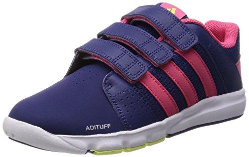 Adidas - Bts Class 4 CF K - Couleur: Bleu marine-Rose - Pointure: 34.0