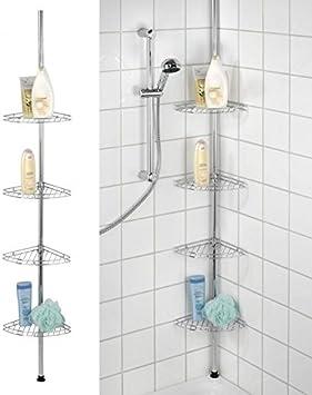 4 niveles refuerzos metálicos en las esquinas para bañera y ...