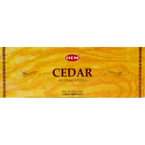 Hem Cedar Incense, 3 Boxes - (360 Sticks per order) Bulk order