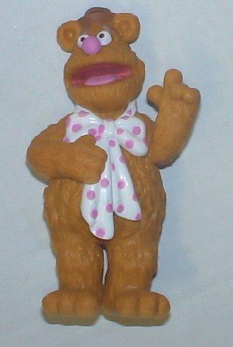 Disney Parks Exclusive the Muppets Pvc Figure: Fozzie - Figure Bear Pvc