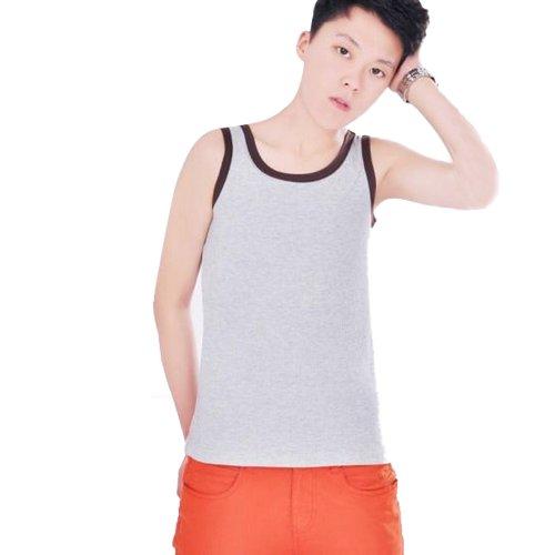 0926d637912b72 Whatwears Les Lesbian Tomboy Chest Binder Undershirt Slim Fit Vest Tops  (XL