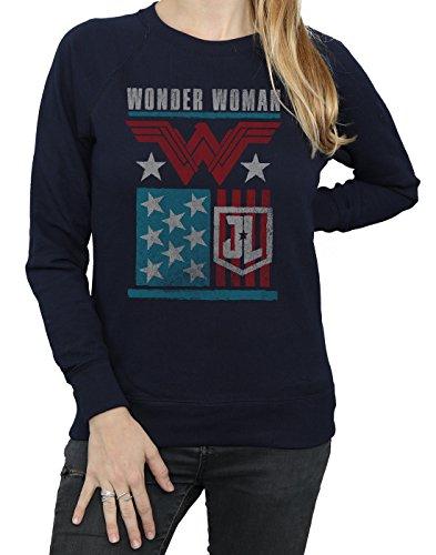 Camisa Entrenamiento Flag League Justice Mujer Dc Armada De Woman Wonder Comics Movie a8wH4