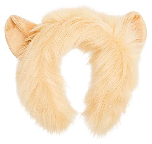 Cowardly Lion Tail - Wildlife Tree Plush Lion Ears Headband