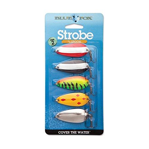 Blue Fox Strobe Spoon Kit, 5/8 (Blue Fox Flash Spoon)