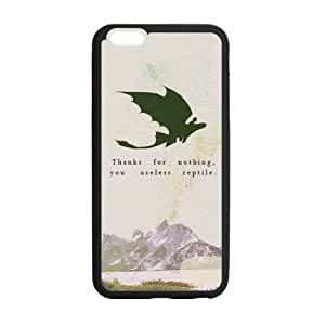 """FEEL.Q- How to Train Your Dragon Toothless Personalized Protective Case for iPhone 6 (4.7"""") TPU Rubber Phone Cases by ruishername"""