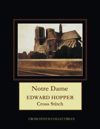 Notre Dame: Edward Hopper Cross Stitch - Edward Pattern