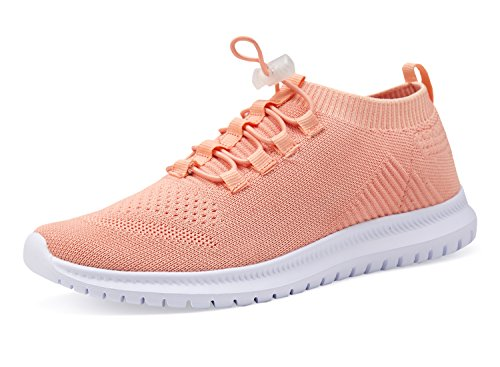Athletic Orange Women Shoes Sneakers Shoes Lightweight and Walking Running Men Casual YTfqwn