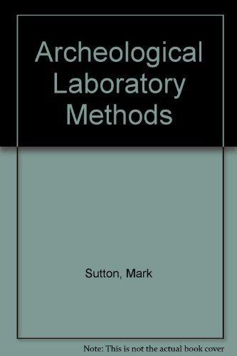 Archaeological Laboratory Methods