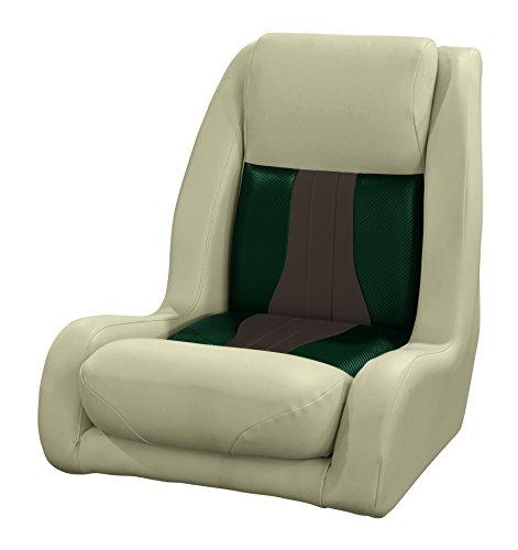 Wise 3013-1807 Talon High Back Bucket Helm Seat, Mocha Java-Rock Salt-Evergreen Carbon Fiber