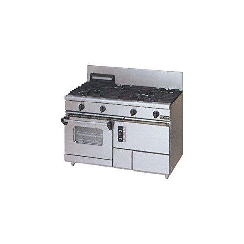 マルゼン(maruzen) NEW パワークック ガスレンジ LPガス W1200×D600×H800×B200mm RGR-1262XC   B01N5SIMN3