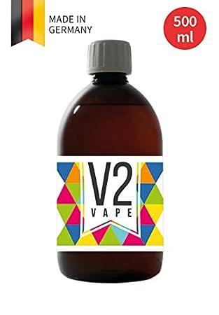 V2 Vape E-Liquid Base Base 500ml Pharmaceutical Grade Pure for self
