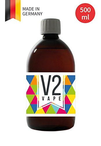 V2 Vape E-Liquid Base Base 500ml grado farmacéutico puro para auto-mezclado de