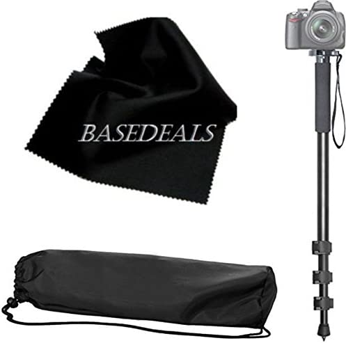 EOS 80D EOS 60D Sturdy 72 Monopod Camera Stick with Quick Release for Canon EOS 7D EOS D60 SLR Cameras: Collapsible Mono pod Mono-pod EOS 70D EOS 7D Mark II EOS D30 EOS 60Da