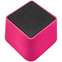 VIBE SOUND VSAU-513-PNK Bluetooth Rhombo Speaker for Smartphones - Retail Packaging - Pink