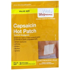 Walgreens Capsaicin Patches Topical Analgesic product image