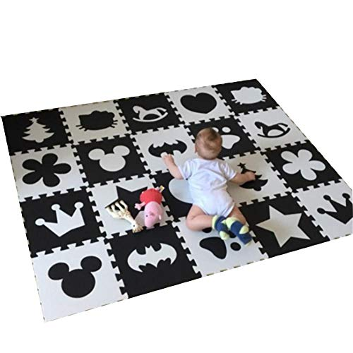 Pooh Baby Winnie Monitor The (10pcs/pack Baby And Children Play Floor Mat Environme Numbers/Foam Mat Black&White Pad Floor For Baby Games)