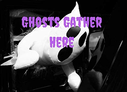 Ghosts Gather Here: Halloween Guest Book To Write In Everything That Makes You Feel Scared