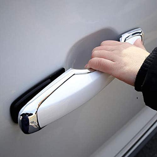 Auartmetion 1set Fit for Volvo XC60 XC90 S90 V90 CC 2018 Bouton de Porte de Voiture d/écalques Chrome ABS Ext/érieur Poign/ée de Porte Barre Cadre Couverture Garniture Styling Accessoires