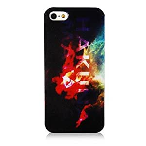 SHOUJIKE Colorful Letter Pattern Silicone Soft Case for iPhone4/4S
