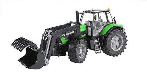 Bruder - 3081 - Véhicule Miniature - Tracteur Deutz Agrotron X720 avec Fourche