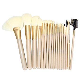Yiwa Black 24pcs Professional Makeup Brushes Makeup Brushe Set Makeup...