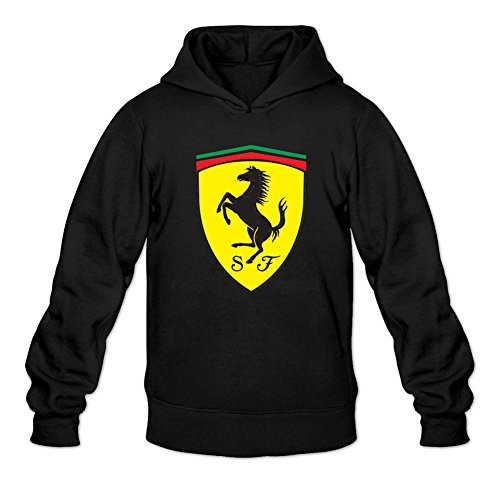 (Men's General Motors Ferrari Logo Hoodies)