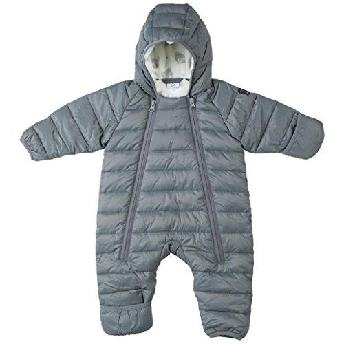 Polarn O. Pyret Insulated Puff Snowsuit (Newborn) - 4-6 Months/Vapor Blue by Polarn O. Pyret