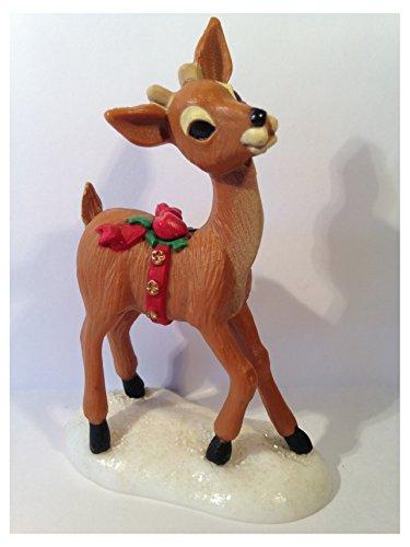 Reindeer Miniature - Reindeer on SnowBase Merry Miniature by Hallmark