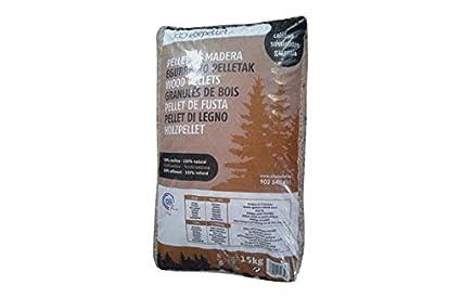 Pellet De Madera Din Plus A1 Saco 15 Kg