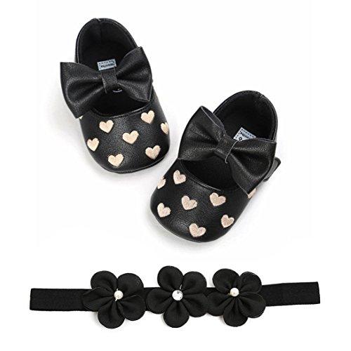 Bambino Shoes Sneaker Scarpine Da Sammoson Aperta Ricamo Sportive Ragazze Primaver Nero Scarpe Sandali Neonato All'aria Bowknot Antiscivolo Amare Ginnastica qIqwpCvgR