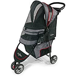 Gen7 Regal Plus Pet Stroller for Dogs and Cats - Lightweight, Compact and Portable with Durable Wheels