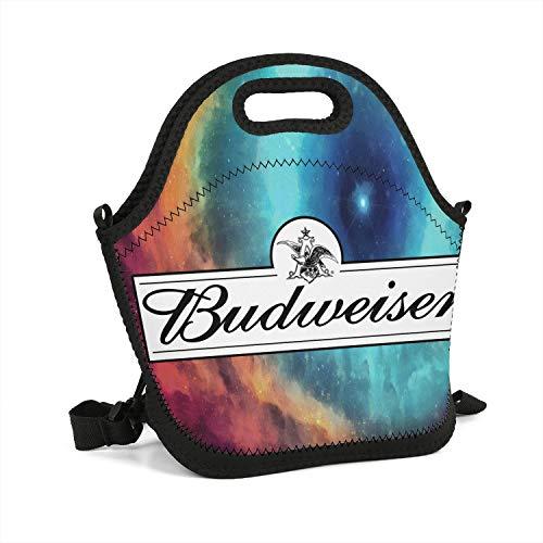 - uter ewjrt Durable Polyester Budweiser-Budvar-Beer-Logo- Breathability Lunch Box Toto Mom Bag for School Work Outside Picnic