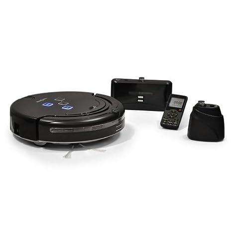 Klarstein Clean Touch Robot inteligente Aspirador Mopa 3ª generación con lámpara ultravioleta desinfectamte (Modo ininterrumpido, programable, ...