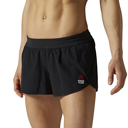Reebok Women's CROSSFIT Knit Shorts, Black, Medium