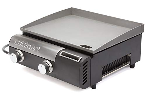 Cuisinart CGG-501 Gourmet Gas Griddle, Two-Burner (Renewed)