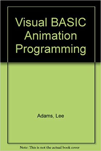 Visual Basic Animation Graphics Programming/Book and Disk
