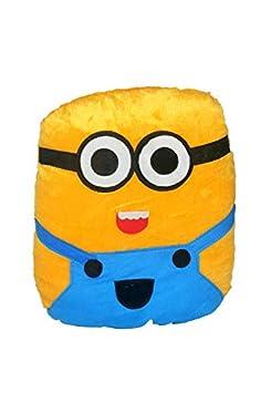 Briltech Minion Emoji Face Plush/Pillow - 13 inches