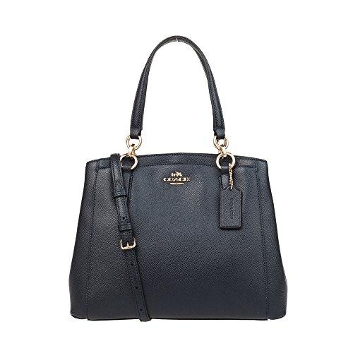 Hand COACH F57847 Women's shoulder leather Midnight bag RqCwzZaxq