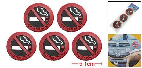 No Smoking Logo - Meiyiu Unique No Smoking Sign Frendly Warning Logo Eco-Friendly Label 5Pcs
