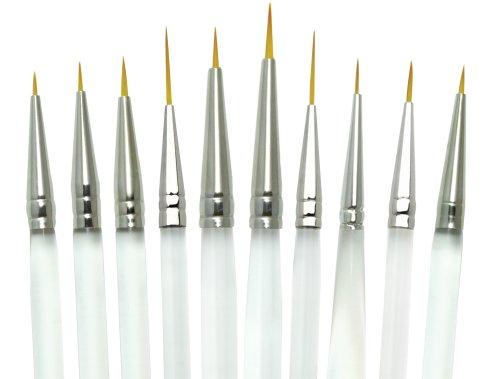 Aqualon Royal and Langnickel Short Handle Paint Brush Set, D