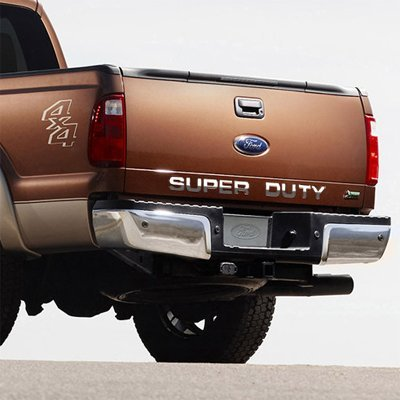 Ford Super Duty Trucks Tail Gate Chrome Letter Insert (Camaro Letter Inserts compare prices)
