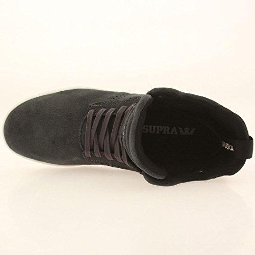 Supra Sktop IV Herren Grau Wildleder High Top Lace Up Sneakers Schuhe 9.5