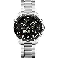 Hamilton Khaki Aviation Flight Timer Quartz Men's Watch