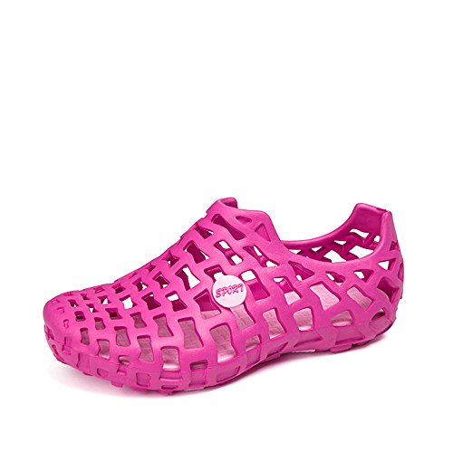 TooTa Menss And Womens Mesh Casual Beach Water Shoes Rose_Red cDn2tcD7l6
