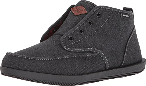 O'Neill Mens Woolrich Surf Turkey Shoes 12 Black