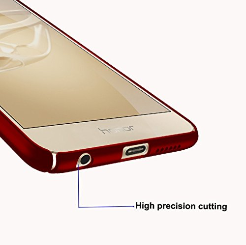 Miroir Liquid Case Protection Bling Bumper Huawei Rsistant Choc 8 1 Coque Nior Souple Anti Honor Housse 8 Honor tui Mince Anti Rayures Cover Ultra Huawei PC Matte wSBTO1q